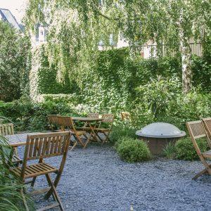Jardin de l'Auberge - Auberge de Jeunesse Adveniat Paris Centre Champs Elysées